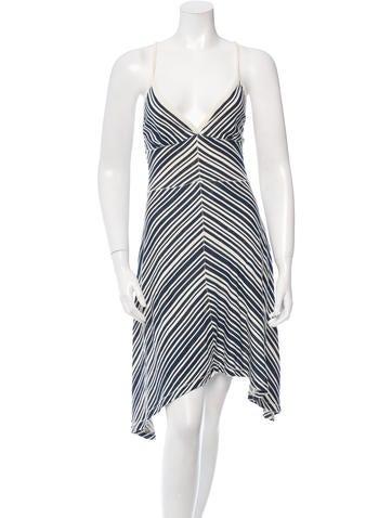 Rag & Bone Striped Midi Dress w/ Tags None