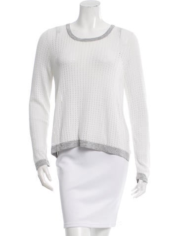 Rag & Bone Scoop Neck Knit Top None
