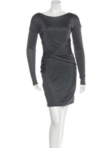 Rag & Bone Ruched Mini Dress None