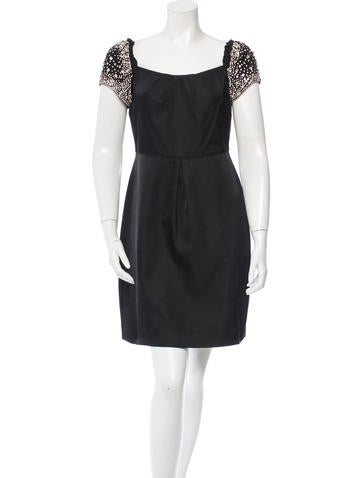 Red Valentino Embellished A-Line Dress None