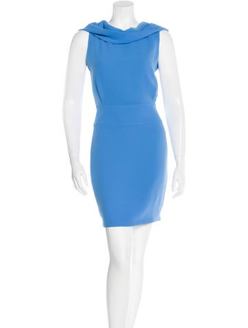 Rachel Roy Cowl Neck Sheath Dress None