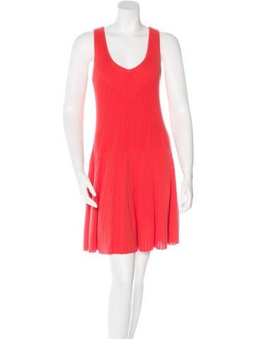 Rebecca Minkoff Sleeveless Knit Dress None