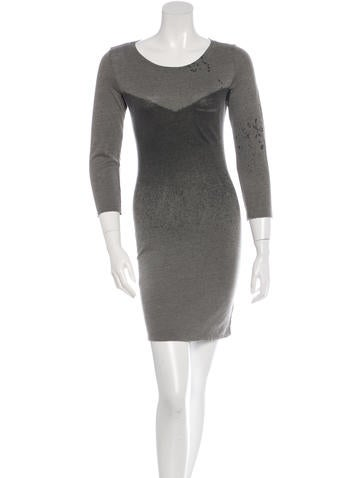 Raquel Allegra Double Knit Bodycon Dress w/ Tags None