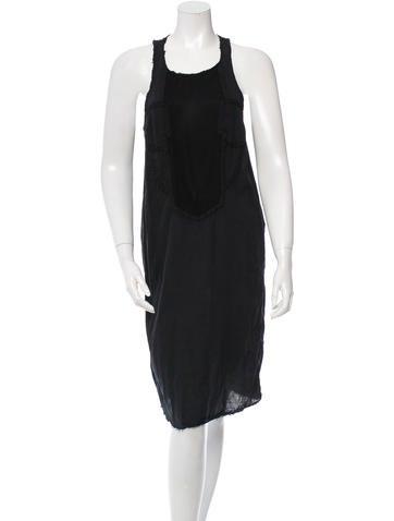 Raquel Allegra Sleeveless Patchwork Dress None
