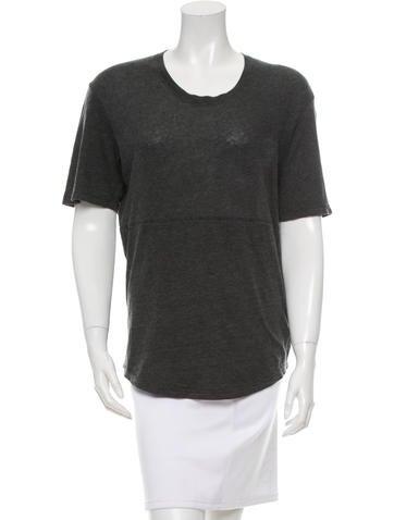 Raquel Allegra High-Low T-Shirt None