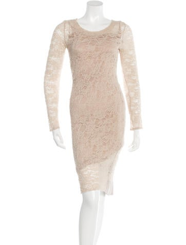 Raquel Allegra Lace Sheath Dress None