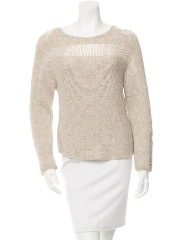 Raquel Allegra Alpaca-Blend Knit Sweater None