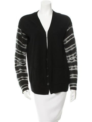 Raquel Allegra Wool & Cashmere-Blend Cardigan None