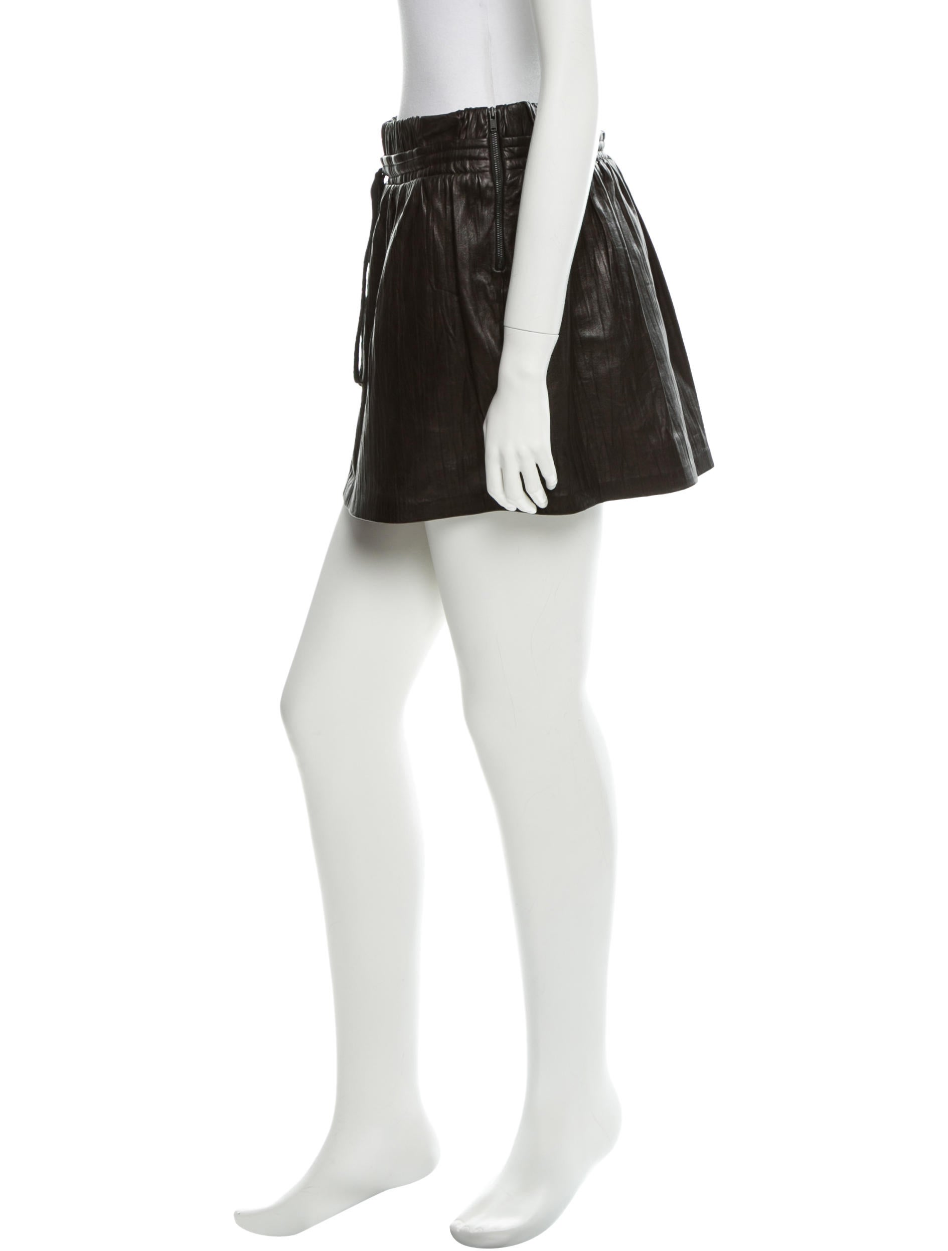 robert rodriguez leather skirt w tags clothing