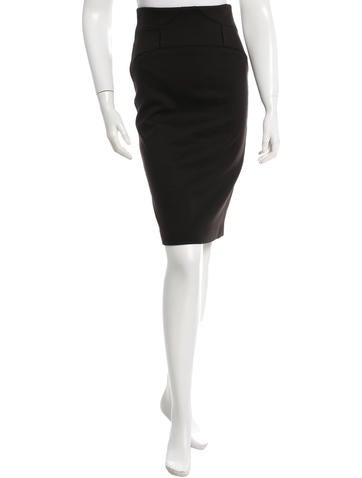Robert Rodriguez Fitted Knee-Length Skirt None