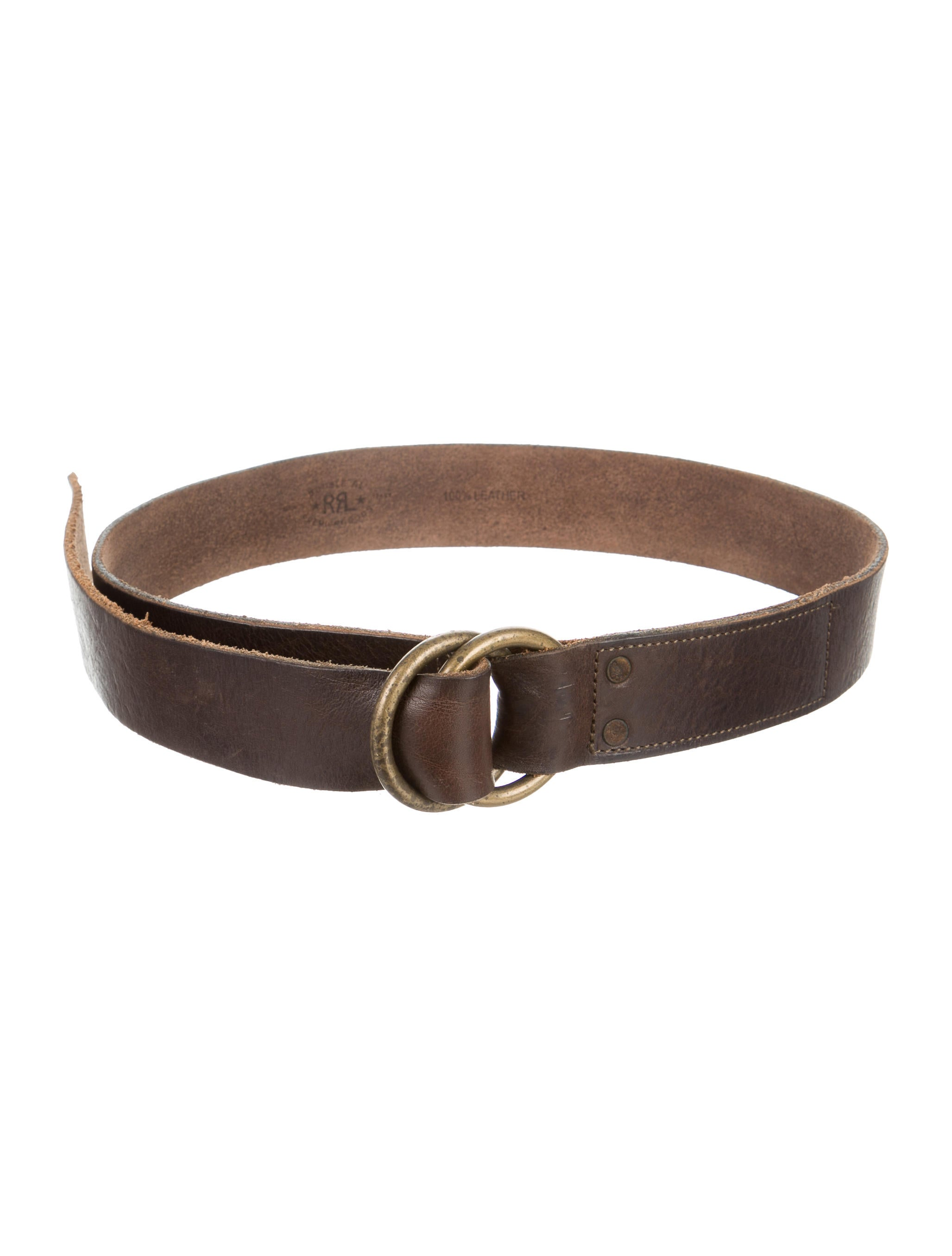 rrl co distressed leather belt accessories