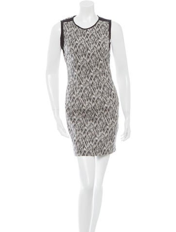 Sandro Sleeveless Bodycon Dress None