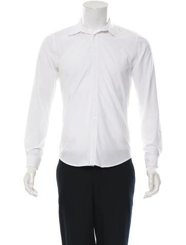 Sandro Long Sleeve Button-Up Shirt