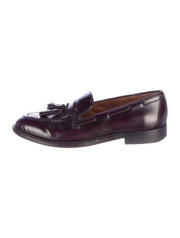 Sandro Leather Tassel Loafers