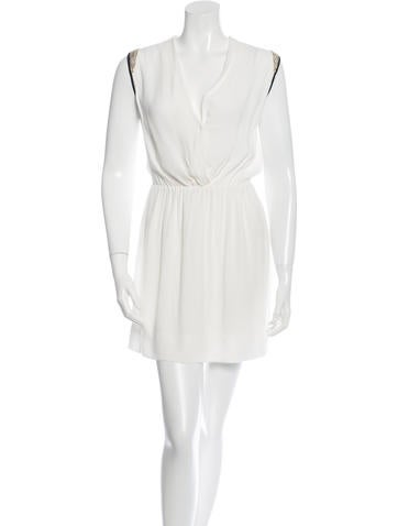 Sandro Surplice-Neck Mini Dress None