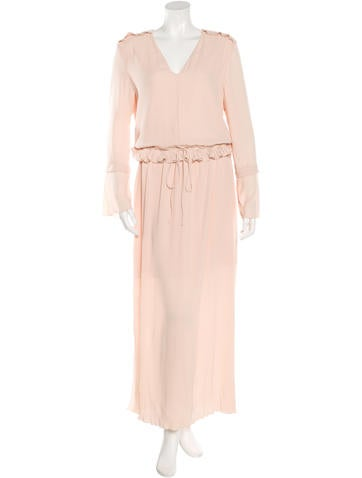 See by Chloé Pleated Maxi Dress w/ Tags None