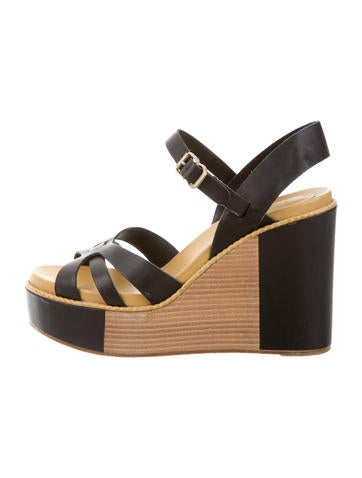 See by Chloé Multistrap Wedge Sandals None