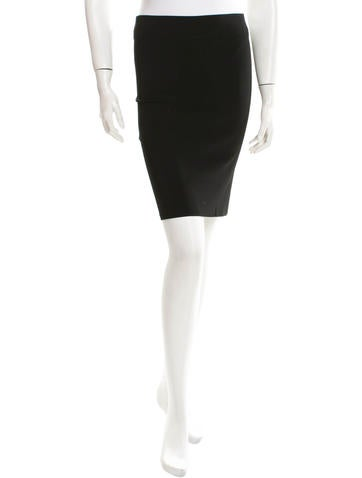 Sonia by Sonia Rykiel Rib Knit Bodycon Skirt None