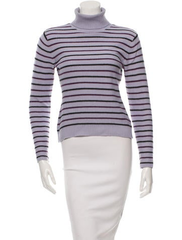 Sonia by Sonia Rykiel Patterned Turtleneck Sweater None