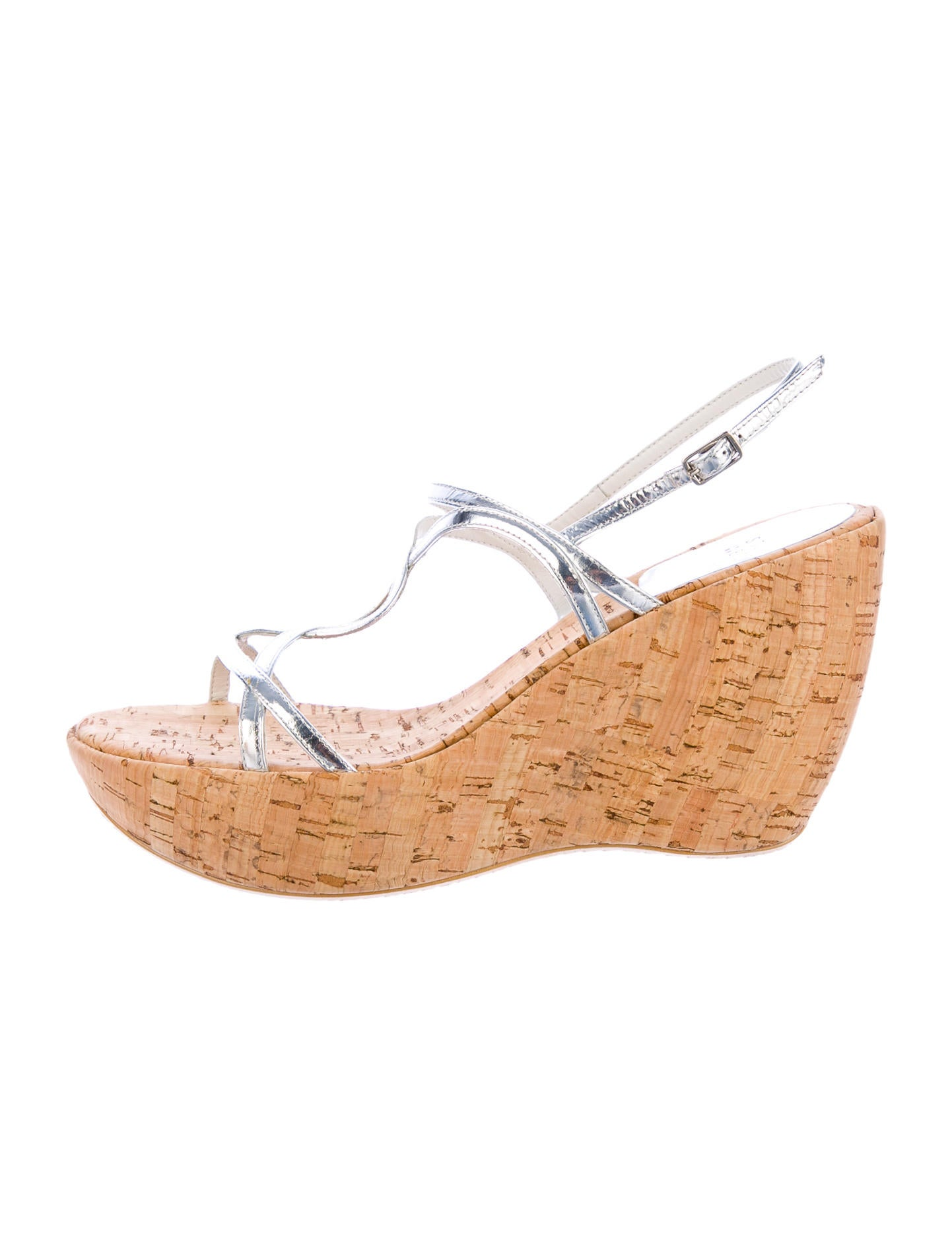 Stuart Weitzman Wedges w/ Tags - Shoes - WSU20559 | The RealReal