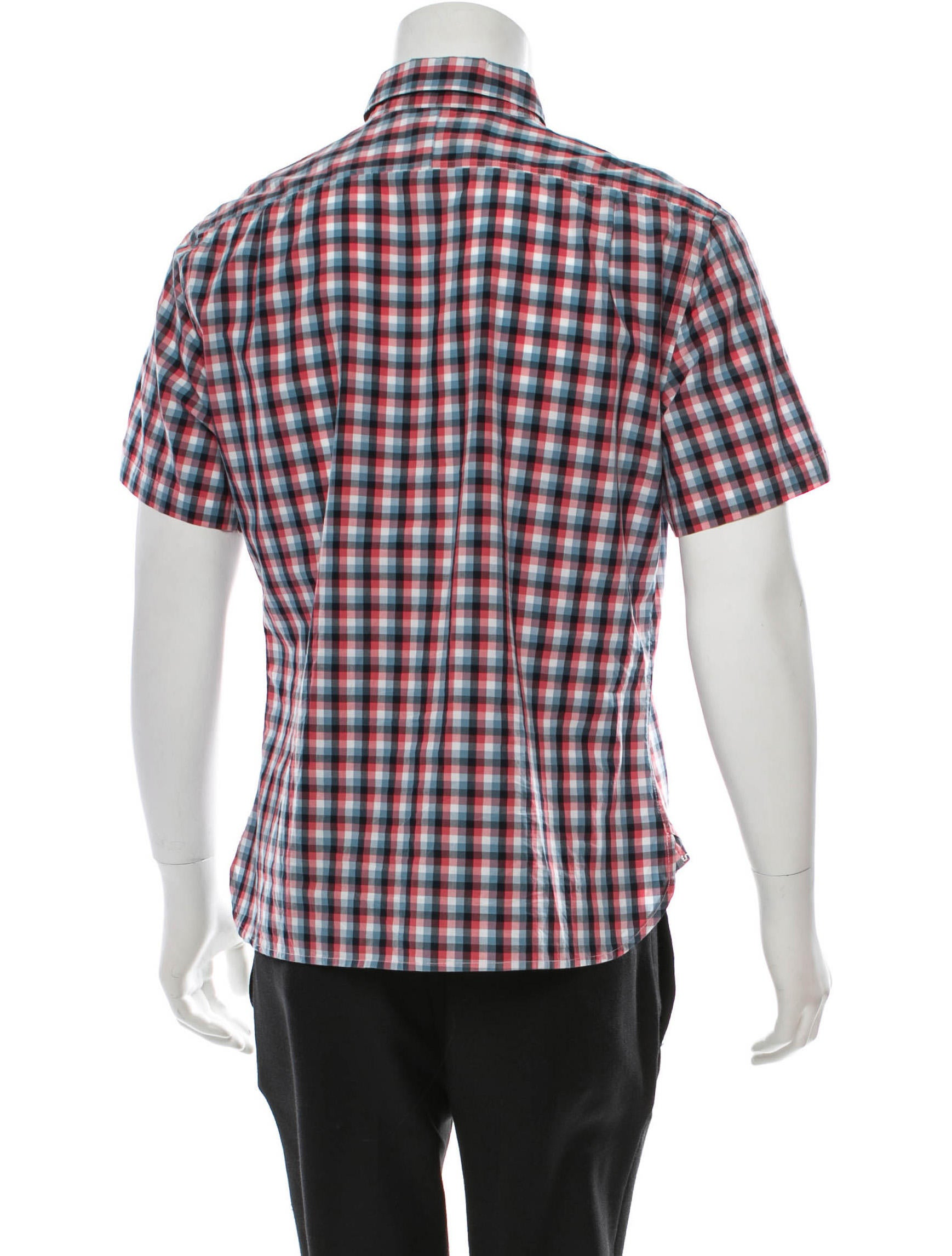 Shipley Halmos Plaid Short Sleeve Shirt Clothing: short sleeve plaid shirts