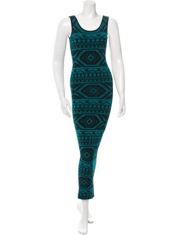 Torn by Ronny Kobo Knit Maxi Dress None