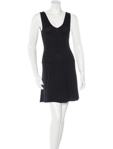 Torn by Ronny Kobo Knit Fit & Flare Dress None
