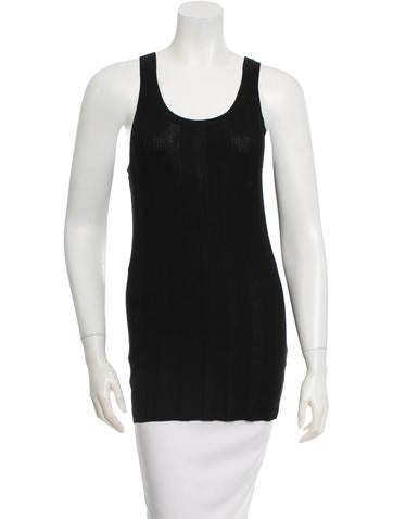 T by Alexander Wang Rib Knit Tank Top None