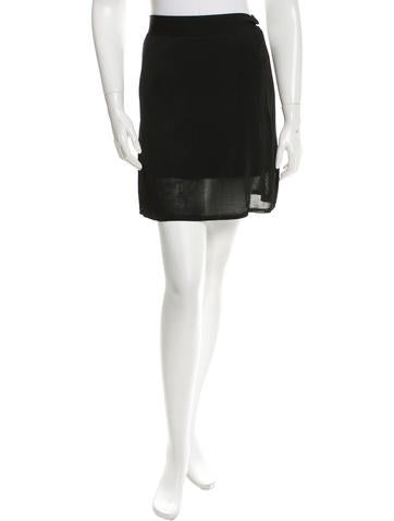 T by Alexander Wang Knit Mini Skirt w/ Tags None