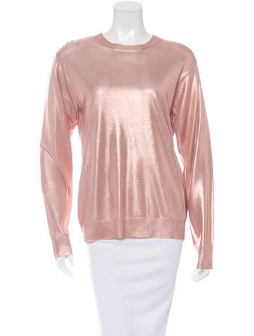 T by Alexander Wang Metallic Knit Sweater w/ Tags None