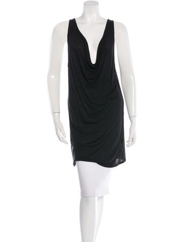 T by Alexander Wang Sleeveless Cowl Neck Top None
