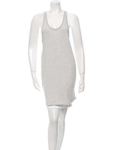 T by Alexander Wang Scoop Neck Racerback Tunic None