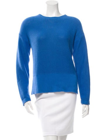T by Alexander Wang Crew Neck Long Sleeve Sweater None