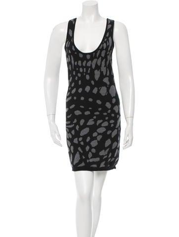 Thakoon Patterned Mini Dress None