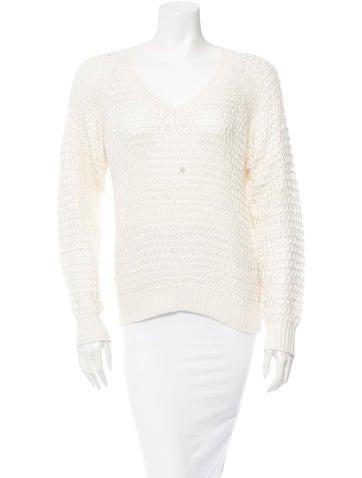 Theyskens' Theory Silk Sweater None