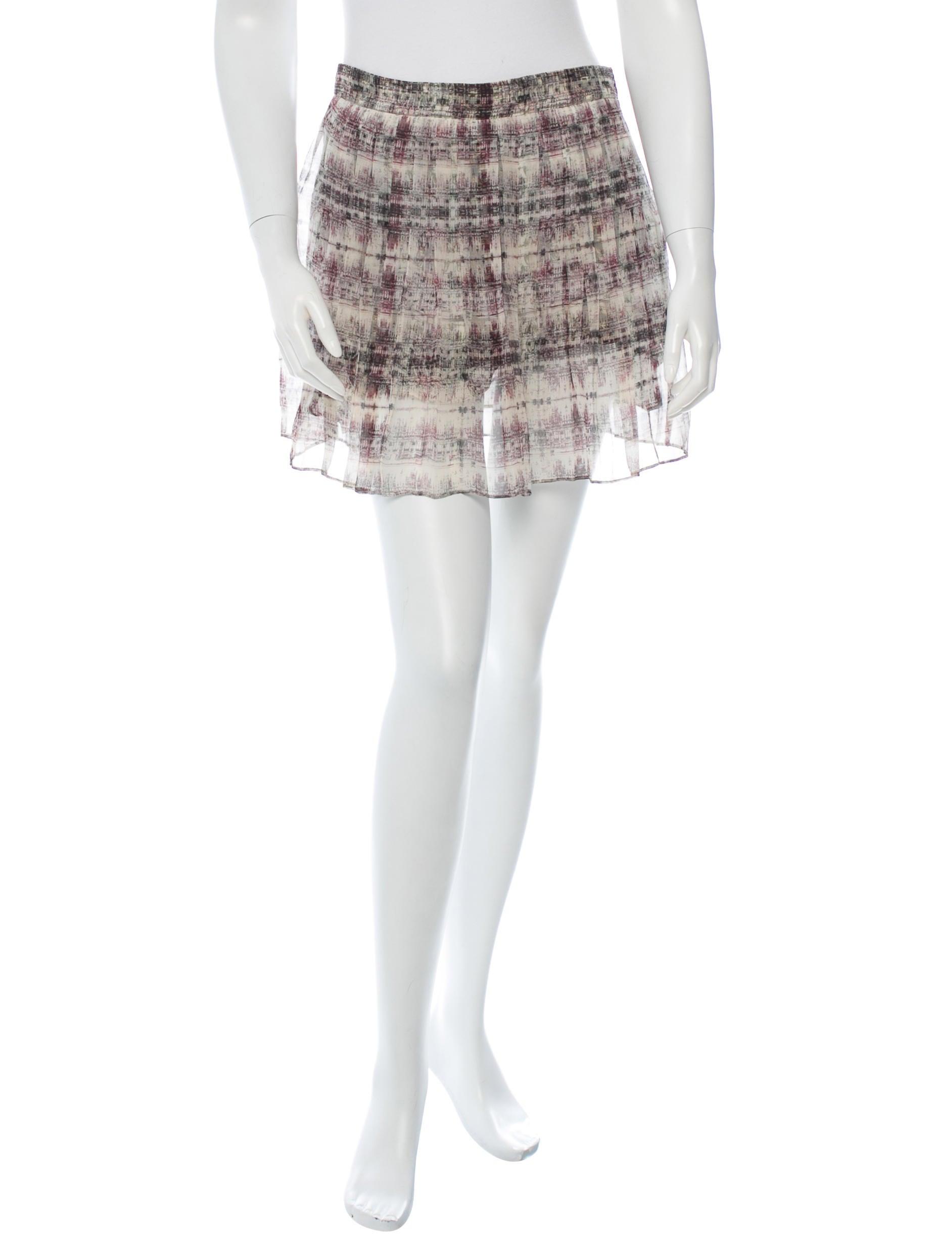 theyskens theory pleated skirt skirts wthys22066