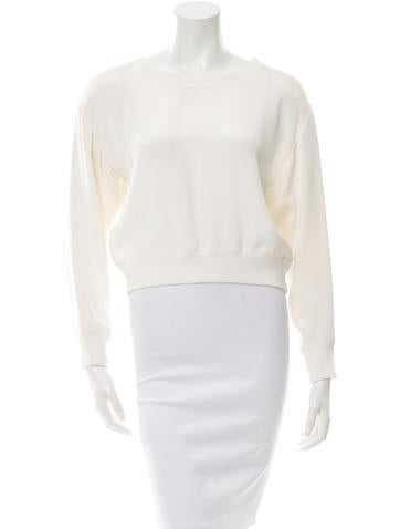 Theyskens' Theory Boxy Crew Neck Top None
