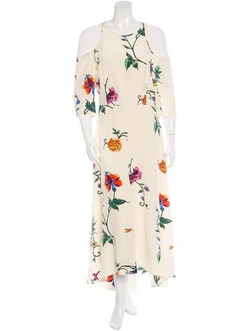 Tibi Silk Floral Print Dress w/ Tags
