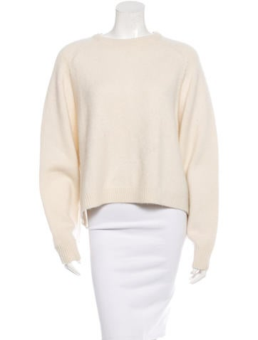 Tibi Cashmere & Silk Sweater None