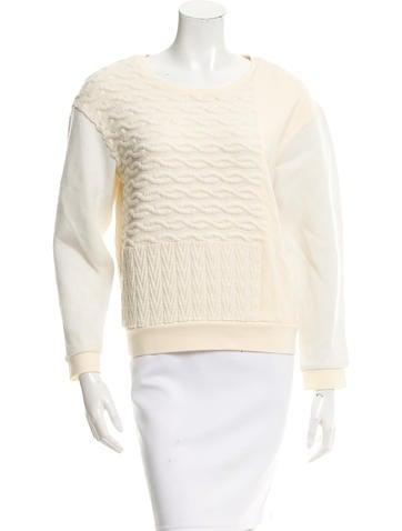 Tibi Rib Knit Sweater w/ Tags None