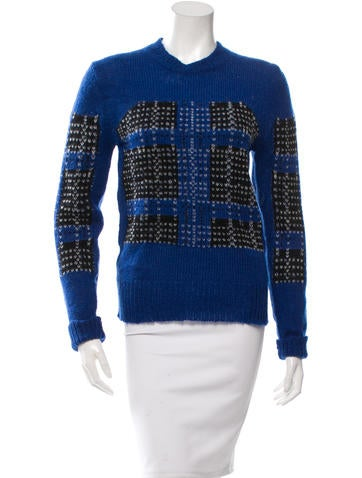 Thakoon Addition Plaid Pullover Sweater w/ Tags None