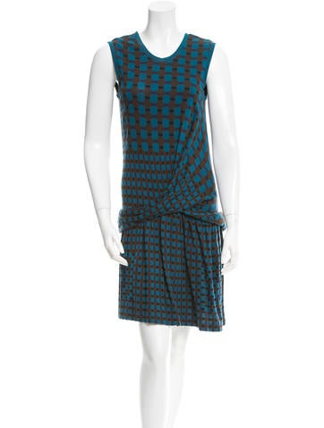 Thakoon Addition Printed Knit Dress None