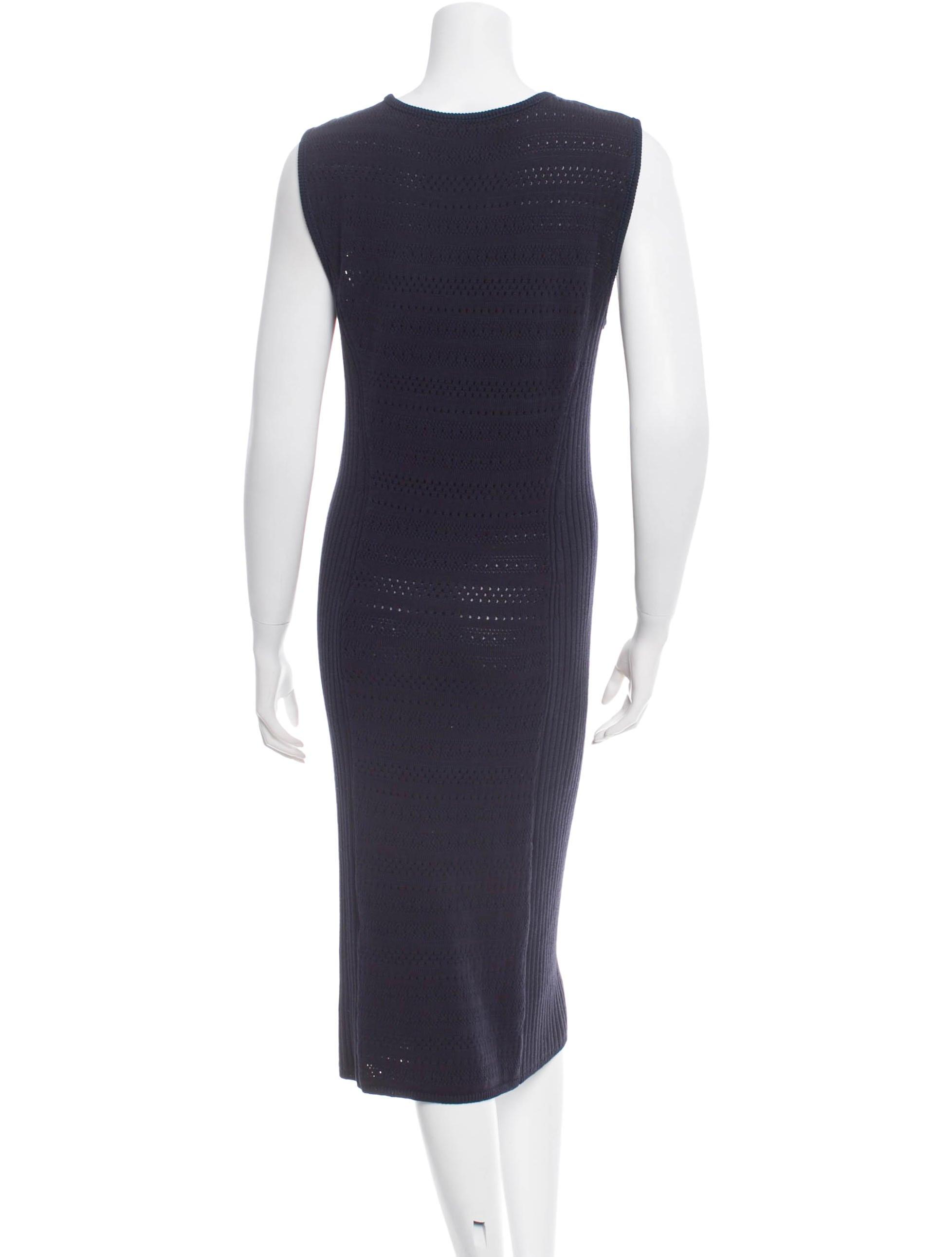 Tory Burch Sleeveless Dress Clothing Wto48433 The