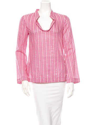 Tory Burch Embellished Top None
