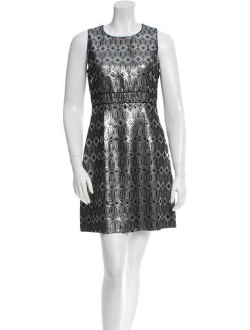 Tory Burch Metallic Mini Dress