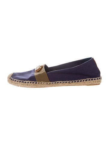Tory Burch Colorblock Medallion-Embellished Espadrilles None