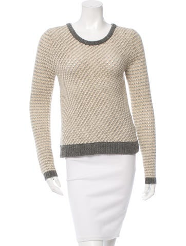 Tory Burch Wool-Blend Sweater None