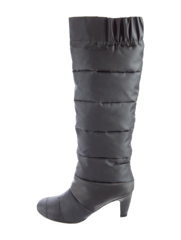 United Nude Quilted Knee-High Boots None
