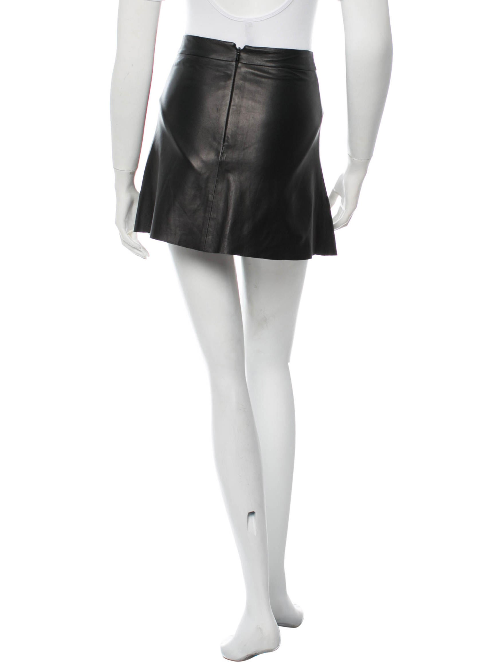veda leather skirt clothing wv320196 the realreal