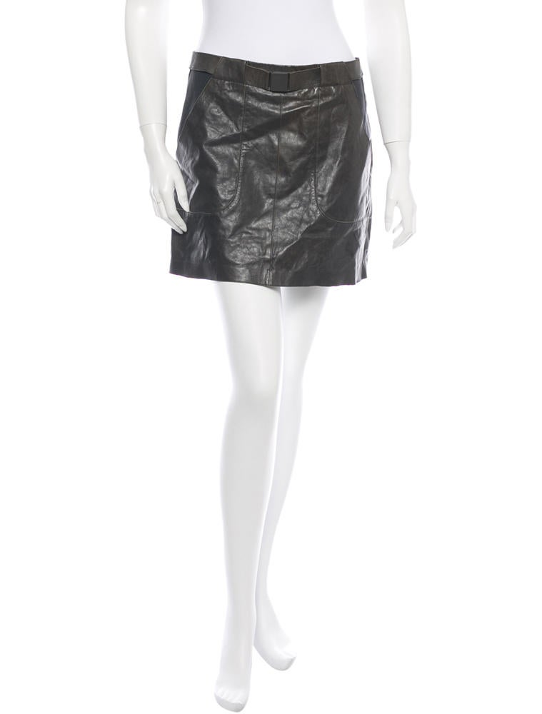 Vince Leather Skirt w/ Tags